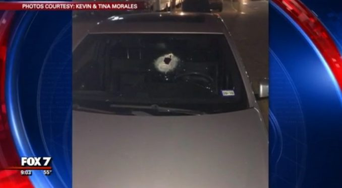 Tina Morales Warns Other Drivers After Getting Hit With A Rock