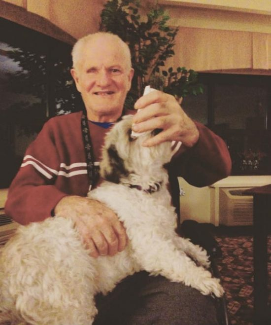 Leslie Muir Finds Man Living In Abandoned Home, Makes A New Friend