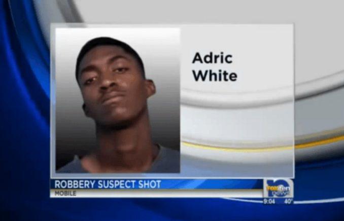 Adric White Shot By Good Samaritan While Robbing Family Dollar