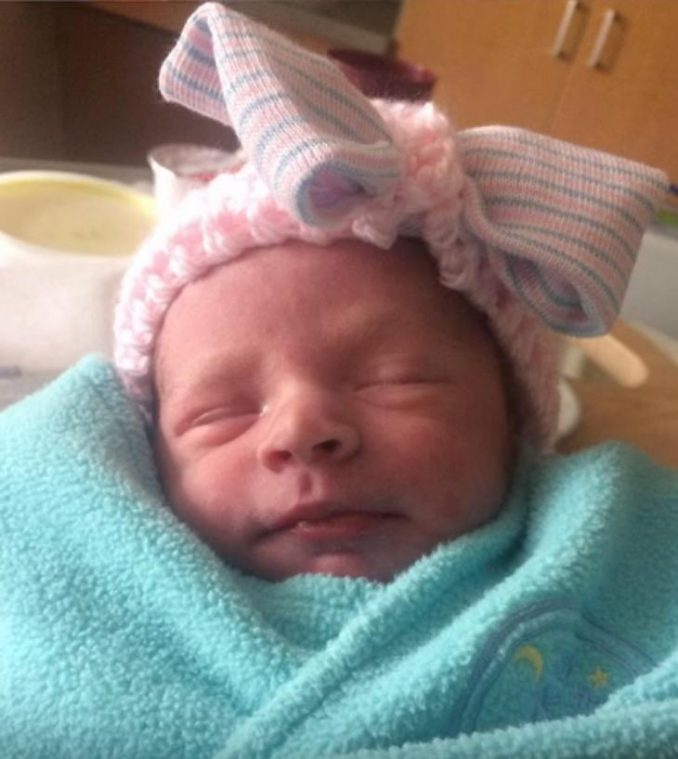 Soldier Jake Osborne Goes Home To Meet His Newborn Daughter