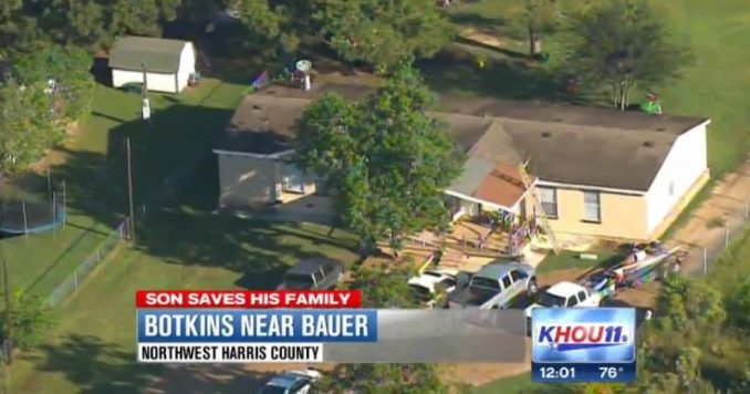 Son Shoots & Kills Alleged Intruder In Harris County, Texas Home