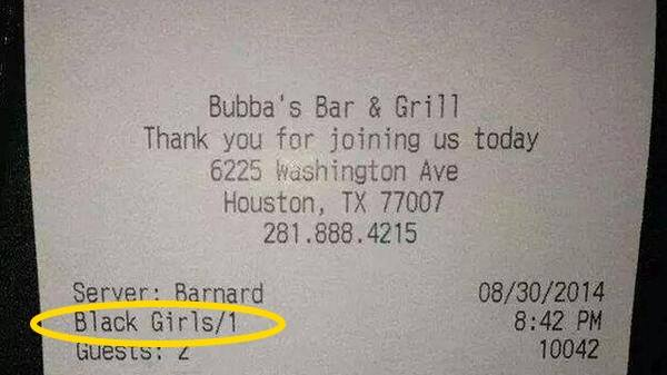 Barnard Bradfield Wrote 'Black Girls' On Receipt, Gets Suspended