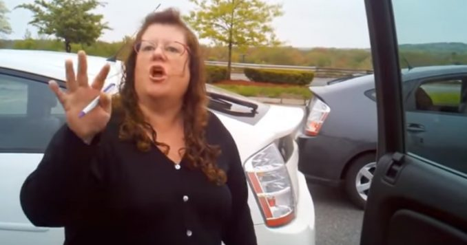 Prius Owner Freaks Out After Seeing A Couple In A Diesel Truck