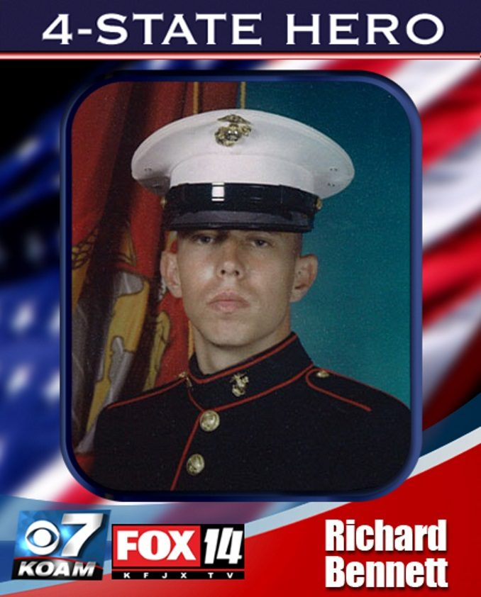 Westboro Baptist Church Protests at Funeral for Marine Richard Bennett