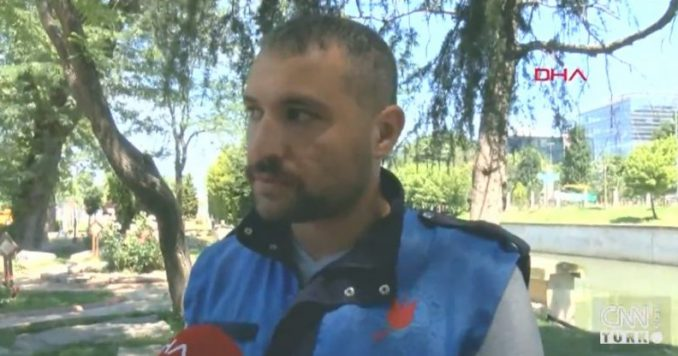 Emre Derebaşı Headbutts Man Who Beat His Wife In Broad Daylight