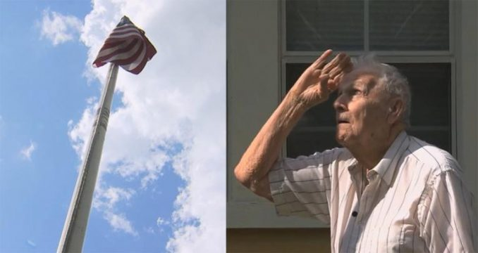 Thief Tries To Steal Flag From Howard Banks — Makes One Big Mistake