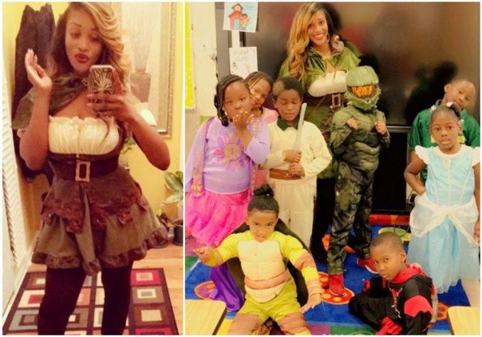 Photos Of Attractive Atlanta Teacher Patrice Brown Spark Heated Debate