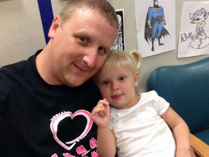 Brent Gehring Hit With Rude Comments While Carrying Sick Daughter