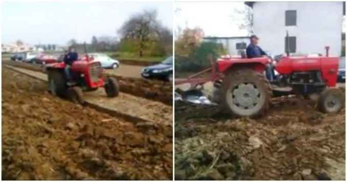 Pavao Bedekovic Gets Revenge On Drivers Parking Cars On His Property