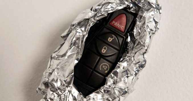 If You See A Key Fob Wrapped In Tin Foil, Here's What You Should Know