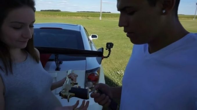 Pedro Ruiz III Asks Girlfriend To Shoot A Book He's Holding – That Was A Bad Idea