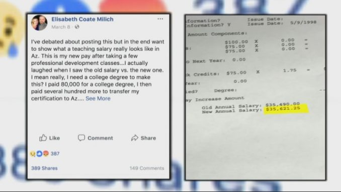 Elisabeth Coate Milich Posted Her Teacher's Salary, And It's Causing An Uproar
