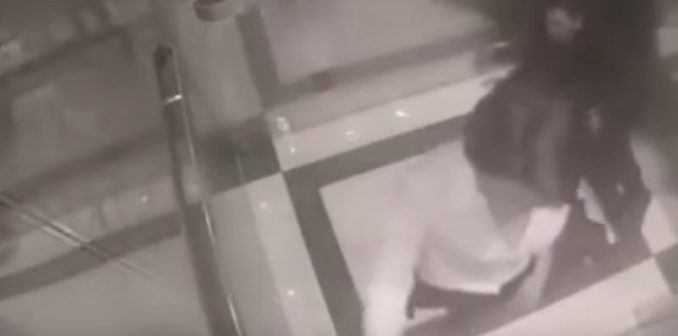 Elevator Beatdown: Creep Harasses Petite Woman — Big Mistake