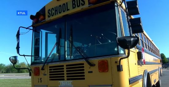 Ginger Maxville Grabs Choking Boy On School Bus, Saves His Life