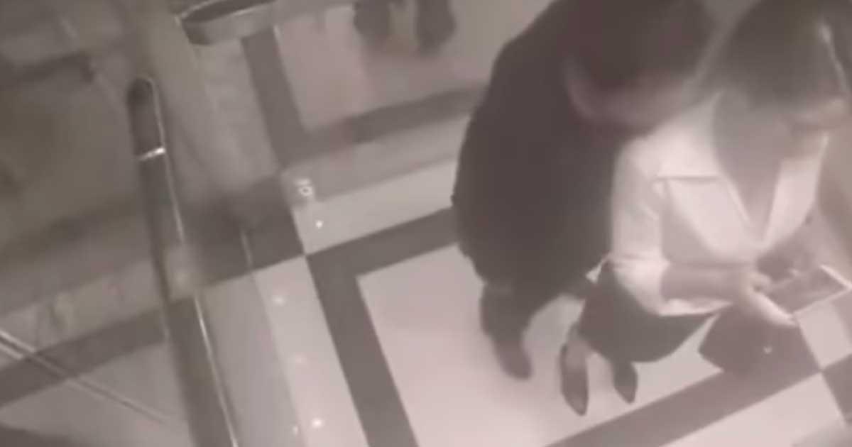 пристали к девушке в лифте видео готова для