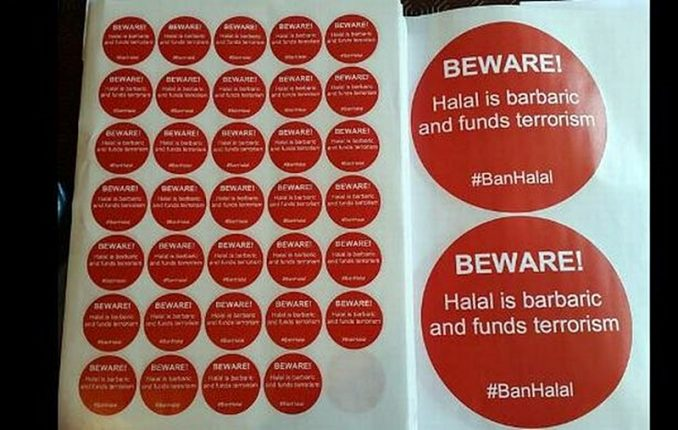 Muslims Go To Buy Halal Meat At Supermarket, Outraged To See Sticker