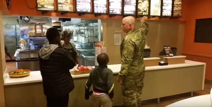 Robert Risdon Buys 2 Deserving Boys Dinner At Taco Bell