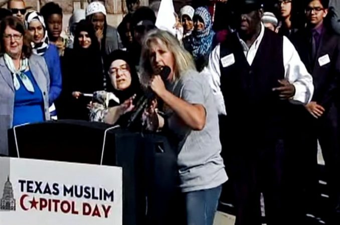 Woman Interrupts Muslim Day Call To Prayer At Oklahoma Capitol Building