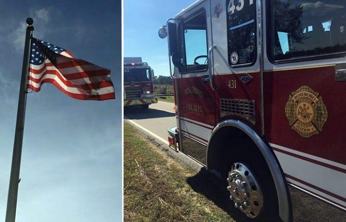 Roseboro Fire Department North Carolina Chaplain Bobby Herring