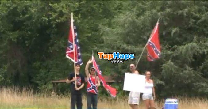 Mark Wilson Confederate Flag