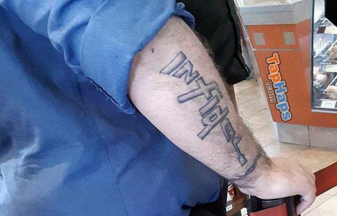 Infidel tattoo