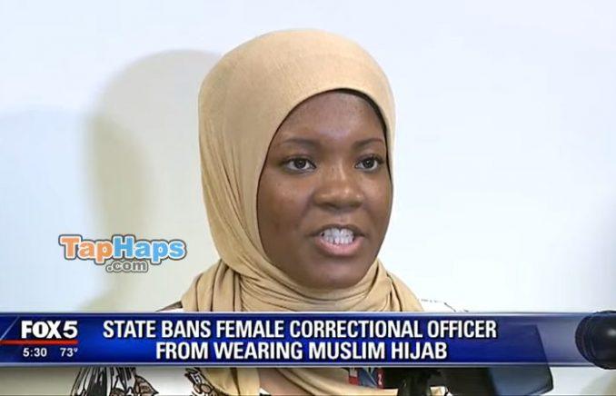 Jalanda Calhoun hijab correctional officer