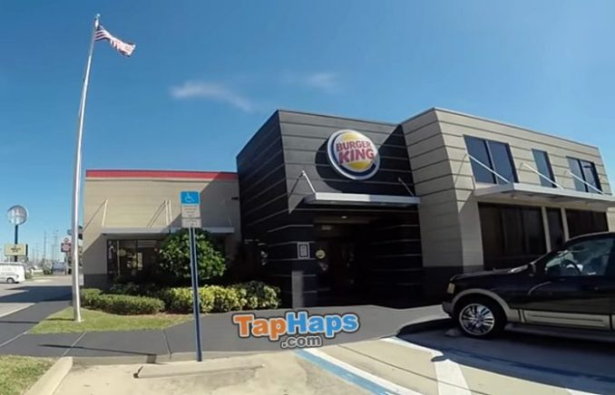 Clovis Police Officer Timo Rosenthal Burger King