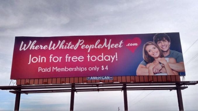 Sam Russell White People Billboard Deemed Racist But Some Say Not Bigoted