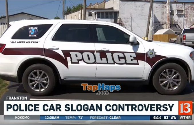 Molly Hobbs Indiana Police Forced To Remove Controversial Decal After Community Backlash