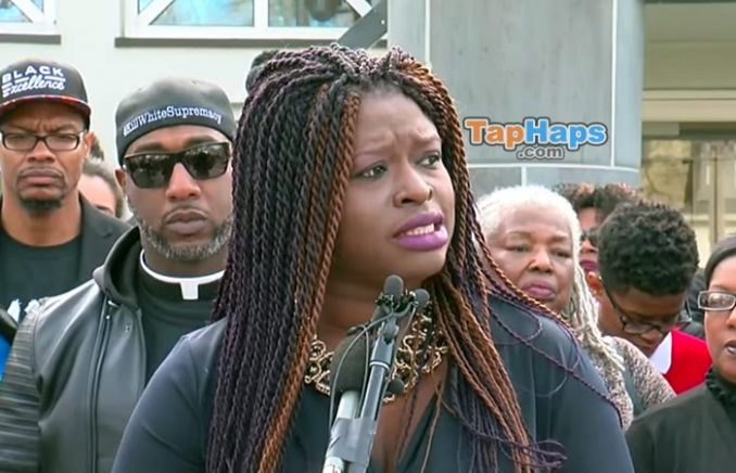 Nekima Levy-Armstrong 13 Girl Punches Kicks Cops Mayor Calls To Investigate Police