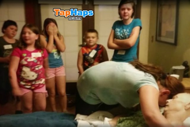 Tisha Beauchmin Couple Adopts Dying Neighbor 3 Kids Comes Home Finds House Completely Different