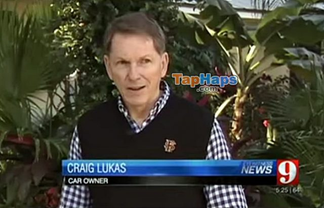 Craig Lukas Homosexual Man Buys New SUV With Offensive License Plate Demands Replacement