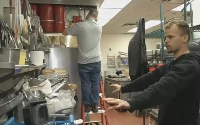 Michael Patterson Vandals Destroy Veteran Cafe After Mob Mistakenly Calls Eatery Racist