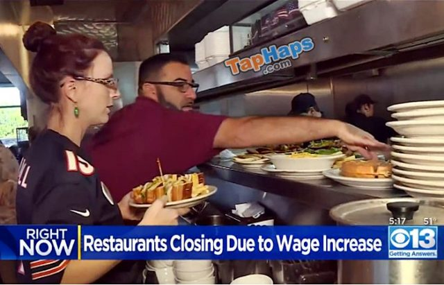 CA Minimum Wage Hike Forces Businesses To Take Drastic Measures