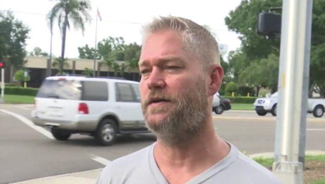 Ryan Bray Panhandler Refused Offer Of Money For Work Sign
