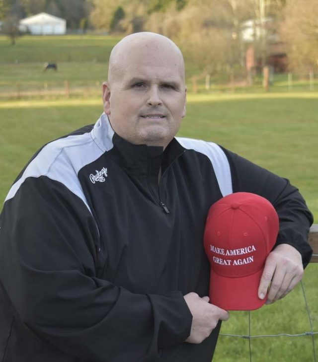 Eric Dodge Trump Supporting Teacher Says Principal Violated His Civil Rights Bullied Him Over MAGA Hat