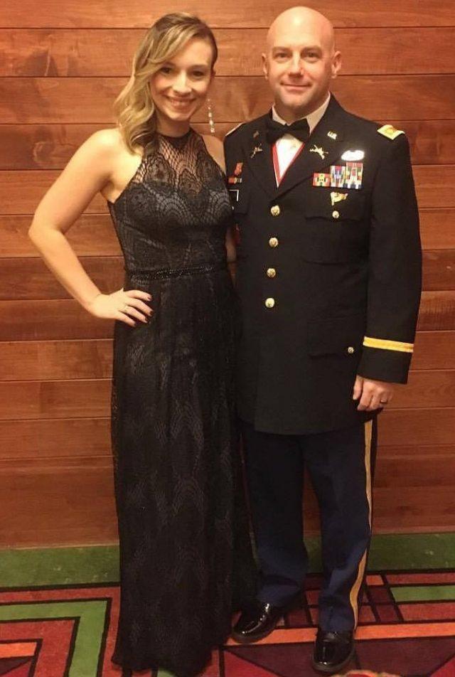 Bridget Stevens Repairman Learns Woman Military Husband Is Deployed