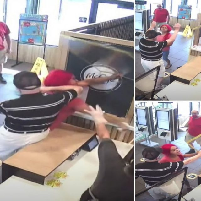 unnamed Indianapolis McDonald's customer
